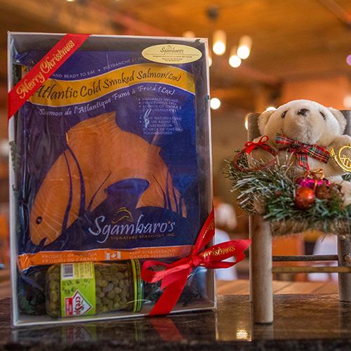 Smoked Salmon (Lox) Gift Box